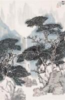 山水 立轴 设色纸本 - 杨达林 - 中国书画 - 第114期月末拍卖会 -中国收藏网