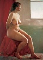 耿万义 女人体 布面 油画 - 127193 - 油画 - 2006年金秋珍品拍卖会 -收藏网