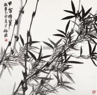 半窗晴翠 镜片 设色纸本 - 133336 - 中国书画 - 2012年迎春艺术品拍卖会 -中国收藏网