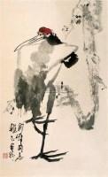 鹤 立轴 设色纸本 - 135142 - 中国书画 - 2007秋季艺术品拍卖会 -中国收藏网