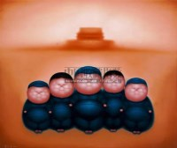 潘德海 2001年作 胖子系列:天安门 - 140707 - 亚洲当代艺术 - 2007春季艺术品拍卖会 -收藏网