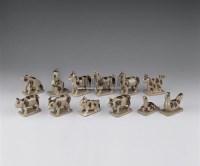 褐彩十二生肖 -  - 青瓷专场 - 2006年夏季拍卖会 -中国收藏网