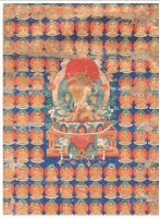 金刚萨埵唐卡 -  - 佛像唐卡 - 2007春季艺术品拍卖会 -中国收藏网