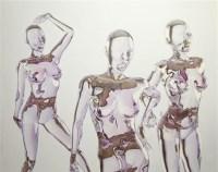 为谁而唱 压克力 画布 -  - 当代美术 西洋美术 - 2011秋季伊斯特香港拍卖会 -收藏网