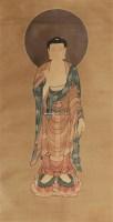 佛像 立轴 绢本 -  - 文物商店友情提供 - 庆二周年秋季拍卖会 -收藏网