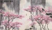 山水 立轴 设色纸本 - 128013 - 中国书画专场 - 2008第三季艺术品拍卖会 -收藏网