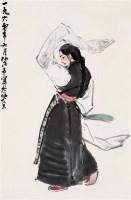 叶浅予   西藏舞女 - 叶浅予 - 中国书画 - 四季拍卖会(第56期) -收藏网