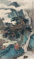 山水清音 镜心 设色绢本 - 刘彦水 - 中国当代书画 - 2006年秋季拍卖会 -收藏网