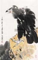 鹰 立轴 设色纸本 - 118173 - 中国书画专场 - 2011夏季艺术品拍卖会 -收藏网