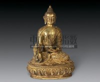 铜坐佛 -  - 瓷器 杂项 - 2007春季艺术品拍卖会 -收藏网