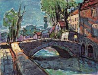 比利时 布面 油画 - 119145 - 名家西画 当代艺术专场 - 2008年秋季艺术品拍卖会 -收藏网