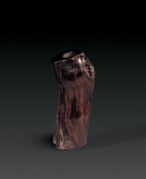 紫檀木雕树根花插 - - 瓷器杂项 - 2007春季杂项瓷器艺术品拍卖会