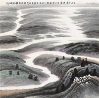 澳洲原野 镜片 设色纸本 - 150012 - 中国书画 - 2011秋季艺术品拍卖会 -收藏网