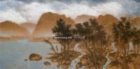 望见西边的云彩 布面 油画 - 高惠君 - 油画雕塑 - 2006秋季艺术精品拍卖会 -收藏网
