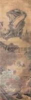 山水 立轴 设色绢本 - 赵坤 - 中国书画专场 - 2008迎春大型艺术品拍卖会 -收藏网