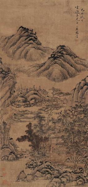 黎简(1748-1799)山居图 - 12328 - 中国书画(二) - 2007秋季艺术品拍卖会 -收藏网