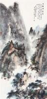 王维诗意图 镜心 设色纸本 - 118603 - 中国书画(四) - 2011春季艺术品拍卖会 -收藏网