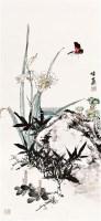 花卉 镜心 设色纸本 - 116666 - 中国书画 - 2011首届书画精品拍卖会 -中国收藏网