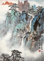 天都峰云 立轴 设色纸本 - 4436 - 中国书画(一) - 2011年夏季拍卖会 -收藏网