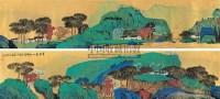 云山锦绣 手卷 设色金笺 - 蔡天雄 - 中国近现代书画 - 2007春季艺术品拍卖会 -收藏网