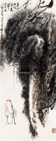 松下人物 立轴 纸本 - 116646 - 中国书画(一) - 2011春季艺术品拍卖会(一) -收藏网