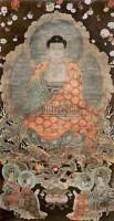 佚名 佛像 -  - 中国书画专场 - 2009春季拍卖会 -收藏网