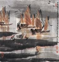 南海秋风 立轴 - 徐希 - 中国书画(一)   - 2006年秋季艺术品拍卖会 -收藏网