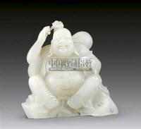 白玉雕弥勒佛 -  - 华艺专场 - 2011年拍卖会 -收藏网