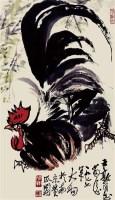 大吉图 镜心 设色纸本 - 116612 - 中国书画专场 - 书画保真专场拍卖会 -中国收藏网
