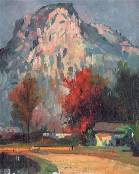 涂克 秋 油画 - 140418 - 油画专场 - 2006首届艺术品拍卖会 -收藏网