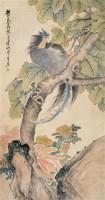 朱梦庐 凤鸟 立轴 设色纸本 -  - 中国书画 - 2006秋季文物艺术品展销会 -中国收藏网