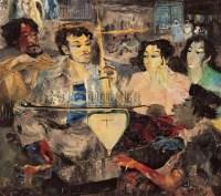 HENDRA GUNAWAN Street musician -  - 现代及当代东南亚艺术 - 2007春季艺术品拍卖会 -收藏网
