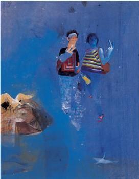 2001年作 有隅 - 155104 - 油画 水彩画 - 2007年春季艺术品拍卖会 -收藏网