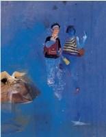 2001年作 有隅 - 岂梦光 - 油画 水彩画 - 2007年春季艺术品拍卖会 -收藏网
