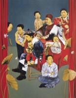 谁打了他一记耳光 布面油彩 -  - 中国油画(一) - 2006年中国艺术品春季拍卖会 -收藏网