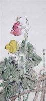 陈琪 花卉 - 72594 - 中国书画 - 浙江方圆2010秋季书画拍卖会 -收藏网