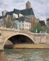 巴黎风景写生 布面油彩 - 153362 - 中国油画(二) - 2006年中国艺术品春季拍卖会 -收藏网