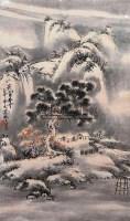 山水 立轴 纸本 - 杨达林 - 古今中国书画 - 2007年春季拍卖会 -中国收藏网