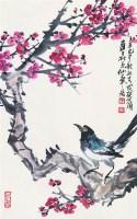 花鸟 立轴 设色纸本 - 126813 - 中国书画 - 2008太平洋迎春艺术品拍卖会 -收藏网
