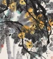 舒传曦 1978年作 硕果之图 立轴 设色纸本 - 舒传曦 - 中国书画(二) - 2006秋季艺术品拍卖会 -收藏网