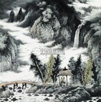 曾先国 2006年作 山水 镜心 -  - 中国书画 - 第二届中国书画拍卖会 -中国收藏网