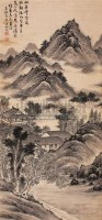 张仙搓 山水 -  - 字画精品 - 2010年迎春艺术品拍卖会 -收藏网