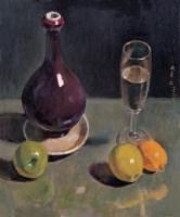 闵希文 静物 - 闵希文 - 中国油画 - 2006年秋季拍卖会 -中国收藏网