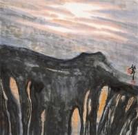 山水 镜片 设色纸本 - 周绍华 - 中国当代书画 - 2011秋季艺术品拍会 -收藏网