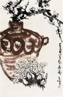 孙其峰     清供图 - 孙其峰 - 中国近现代书画 - 2007年第1期嘉德四季拍卖会 -收藏网
