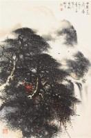 山水 镜心 设色纸本 - 4438 - 书画杂件 - 2007迎春文物艺术品拍卖会 -收藏网