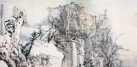 幽谷玄风图 - 6320 - 中国书画二 - 2010春季大型艺术品拍卖会 -收藏网