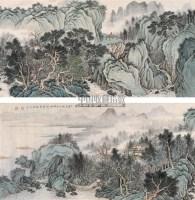 湖山清远图 镜心 设色纸本 - 刘彦水 - 中国书画 - 2005冬季拍卖会 -收藏网