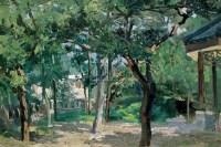 紫竹园一角 纸上 油彩 - 李宗津 - 西洋美术 - 2005秋季艺术品拍卖会 -收藏网