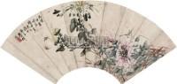 春趣图 扇页 设色纸本 -  - 中国书画 - 四季精品拍卖会 -收藏网